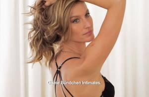 Gisele Bündchen : Irrésistible en lingerie, la bombe brésilienne nous séduit
