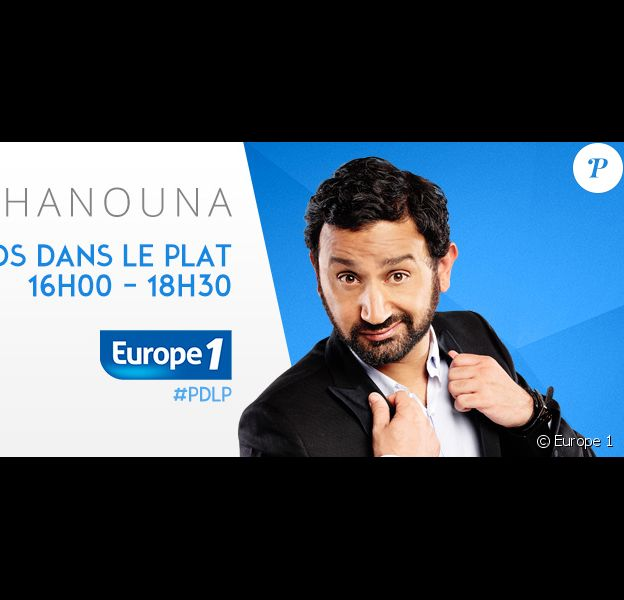 Cyril Hanouna dans Les Pieds dans le plat, du lundi au vendredi dès 16h00 sur Europe 1