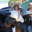 Lisa Rinna à Los Angeles, le 27 août 2014.