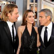 Brad Pitt et Angelina Jolie : George Clooney les félicite... avant son mariage