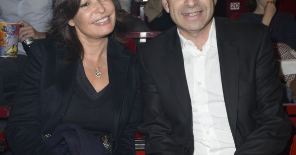 Jean francois cop et sa femme nadia au concert de patrick bruel bercy le 22 juin 2013 - Jean francois balmer et sa femme ...