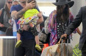 Megan Fox : Au restau ou en promo, jamais sans ses deux enfants et son chéri !