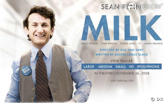 Sean Penn dans Milk, visuel promo Apple