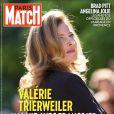 Valérie Trierweiler en couverture de Paris Match, un numéro exceptionnel en kiosques le 3 septembre 2014.