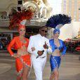 Antonio Fargas, aka Huggy les bons tuyaux, lors du Festival Knight Rider à Las Vegas sur Fremont Street Experience, le 18 mai 2012