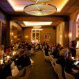 Soirée d'ouverture du Restaurant Victoria 1836, situé au 12 rue de Presbourg, dans le 16e arrondissement de Paris, le 4 septembre 2014.