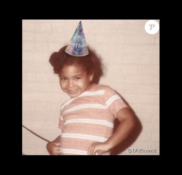 Beyoncé a partagé une photo d'elle enfant à l'occasion de son anniversaire, le 4 septembre 2014.