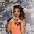La chanteuse Tal lors des World Music Awards à Monaco, le 27 mai 2014.