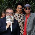 Farida Khelfa et Alber Elbaz à la présentation du documentaire realisé par Farida Khelfa sur Christian Louboutin au cinéma La Pagode à Paris, le 9 septembre 2014. Le film sera diffusé sur Arte le 27 septembre à 22h30.