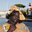Issa Doumbia - Ouverture du 16e Festival de fiction TV de La Rochelle, le 10 septembre 2014