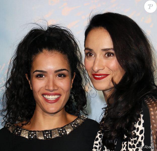 Sabrina Ouazani et Rachida Brakni - Ouverture du 16e Festival de fiction TV de La Rochelle, le 10 septembre 2014