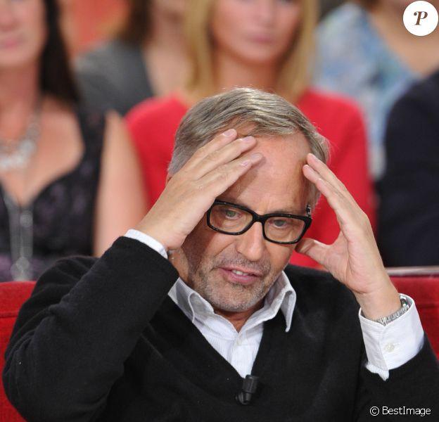 Fabrice Luchini - Enregistrement de l'émission Vivement Dimanche à Paris le 26 septembre 2012