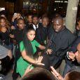 Après son apparition au au Stade de France lors du concert de Beyoncé et Jay Z, Nicki Minaj est allée au Club 79. Paris, le 12 septembre 2013.