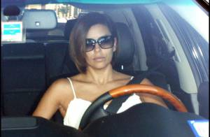 PHOTOS : Quand Eva Longoria se déshabille en pleine rue !