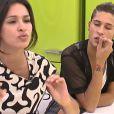 Leïla dans la quotidienne de Secret Story 8, le lundi 15 septembre 2014 sur TF1