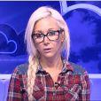 Julie dans la quotidienne de Secret Story 8, le lundi 15 septembre 2014 sur TF1