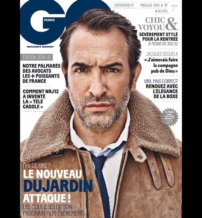 Jean dujardin en couverture de gq num ro d 39 octobre 2014 for Frere de jean dujardin