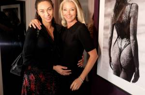 Lilly Becker : Sublime au côté d'une Tamara Beckwith future maman rayonnante