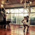 Ophélie Winter et Christophe Licata : Répétitions pour Danse avec les stars 5, sur TF1
