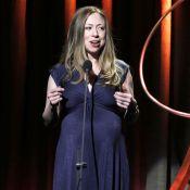 Chelsea Clinton enceinte : Belle future maman devant ses parents et Eva Longoria