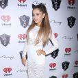 """Ariana Grande à l'after party du festival de musique """"iHeartRadio"""" au 1OAK Nightclub à Las Vegas, le 19 septembre 2014."""