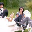 Les finalistes dans la quotidienne de Secret Story 8, sur TF1, le lundi 22 septembre 2014