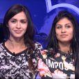 Leila et Jessica dans la quotidienne de Secret Story 8, sur TF1, le lundi 22 septembre 2014