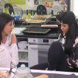Nathalie et Jessica dans la quotidienne de Secret Story 8, sur TF1, le lundi 22 septembre 2014