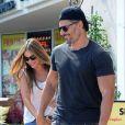 Sofia Vergara et Joe Manganiello vont déjeuner au restaurant à Beverly Hills, le 7 septembre 2014