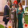 Sofia Vergara sur le tournage de la série Modern Family à Los Angeles, le 18 septembre 2014.