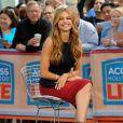 """Sofia Vergara sur le plateau de l'émission """"Access Hollywood"""" à New York, le 22 septembre 2014."""