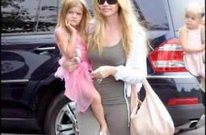 PHOTOS : Denise Richards retrouve le moral grâce à ses deux petites filles...