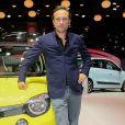 Vincent Perez lors de la soirée d'inauguration des nouvelles Renault Espace et Clio lors du salon de l'automobile au Parc des Expositions de la porte de Versailles à Paris, le 2 octobre 2014.