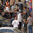 Leonardo DiCaprio sue le tournage de Body of Lies