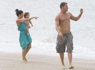 Channing Tatum : Un papa musclé et torse nu auprès des femmes de sa vie
