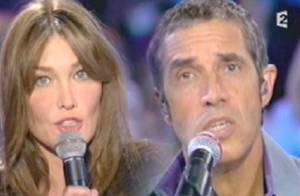 VIDEO : Carla Bruni et Julien Clerc, un duo à perdre le souffle...