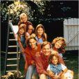 """Stephen Collins, alias le Révéren Camden, dans la série à succès """"Sept à la maison""""."""