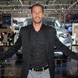 Michael Llodra - Soirée Jaguar et Land Rover à l'occasion de l'ouverture du Mondial de l'Automobile au Parc des Expositions de la porte de Versailles à Paris, le 2 octobre 2014.