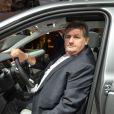 Pierre Ménès - Soirée Jaguar et Land Rover à l'occasion de l'ouverture du Mondial de l'Automobile au Parc des Expositions de la porte de Versailles à Paris, le 2 octobre 2014.