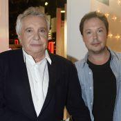 Michel Sardou et son fils Davy, complices face à des ''Enfants du Top 50''
