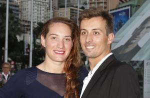 Camille Muffat et William : Amoureux au côté de la belle Adriana Karembeu