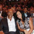 Mike Tyson et sa femme Lakiha 'Kiki' Spicer lors du 25e Sportel de Monaco le 8 octobre 2014 au Forum Grimaldi