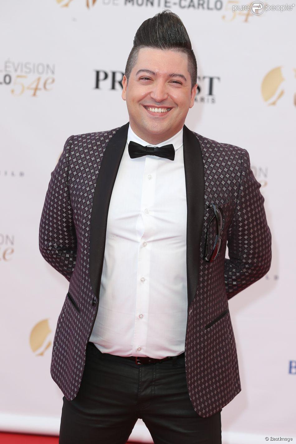Chris Marques - Cérémonie d'ouverture du 54e Festival de Télévision de Monte-Carlo le 7 Juin 2014.