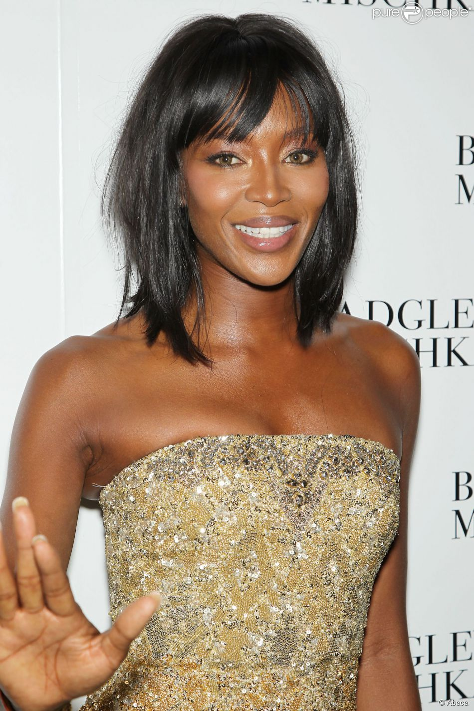 Naomi Campbell lors de la Mercedes-Benz Fashion Week Spring/Summer 2015 à New York le 9 septembre 2014