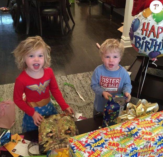 Harper et Gideon fêtent leurs 4 ans, le 12 octobre 2014