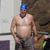 Chris Noth : Le Mister Big de ''Sex and the City'' en maillot et bonnet de bain