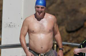 Chris Noth : Le Mister Big de ''Sex and the City'' en maillot et bonnet de bain