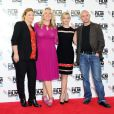 Bruna Papandrea, Cheryl Strayed, Reese Witherspoon et Nick Hornby lors du BFI London Film Festival et le photocall du film Wild, le 13 octobre 2014