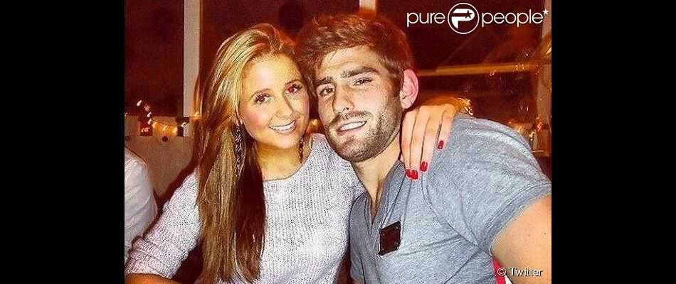 Ched Evans, reconnu coupable de viol et ancien joueur de Sheffield United, en compagnie de sa girlfriend Natasha Massey