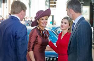 Letizia d'Espagne chez Maxima des Pays-Bas : Rendez-vous glamour à La Haye